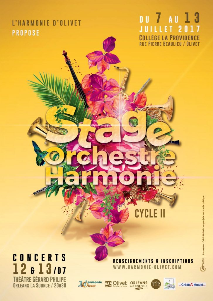 AFFICHE STAGE HO 2017